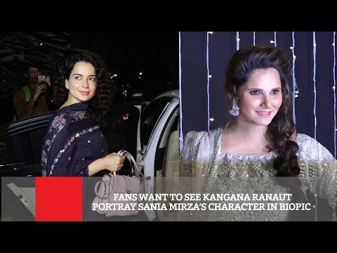 Fans Want To See Kangana Ranaut Portray Sania Mirza's Character In Biopic | Sports News