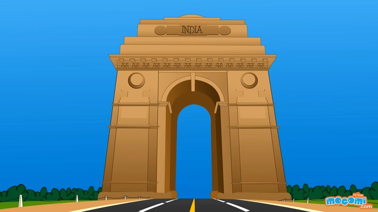India Gate Delhi History - Facts for Kids | Educational Videos by Mocomi