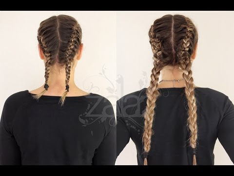 How to: Double French Braids Using Hair Extensions
