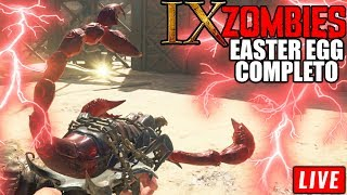 🔴 EASER EGG COMPLETO IX ZOMBIES + BOSS FIGHT - Call Of Duty: Black Ops 4 - #VEMPRALIVE
