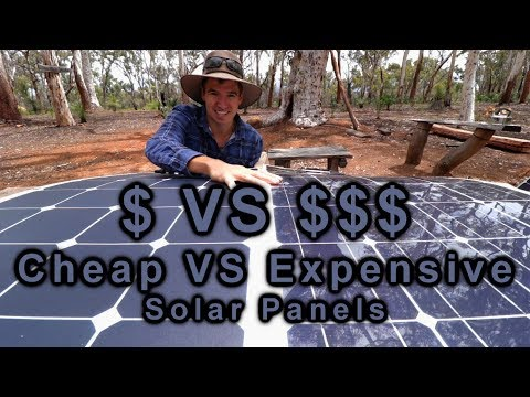 Cheap VS Expensive Solar Panels | 12v Touring | Project Cyan
