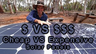 Cheap VS Expensive Solar Panels | 12v Touring | Project Cyan thumbnail