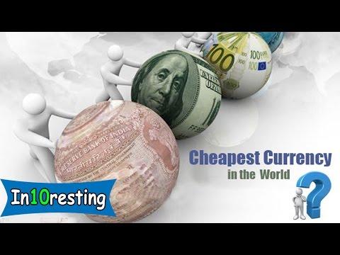 Top 10 weakest currencies of the word 2016