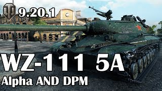 World of Tanks: WZ-111 5A Alpha AND DPM