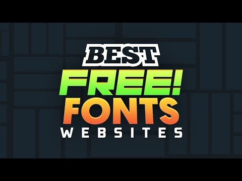 *2019* Best Sites To Get FREE Fonts