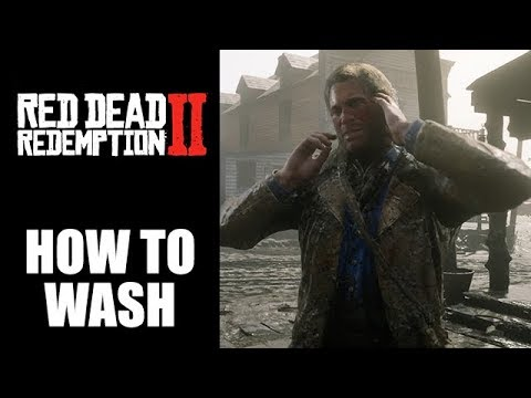 Red Dead Redemption 2 how to wash