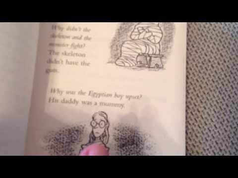 Horrid Henry's joke book - YouTube