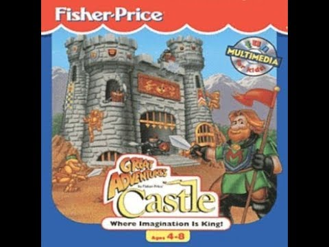 Fisher Price Great Adventures Castle Youtube