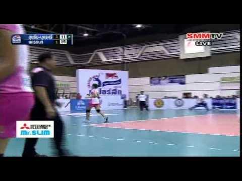 นครนนท์ VS สุพรีม-นครศรี [Set3] รอบรองฯ Super League 10-06-2013