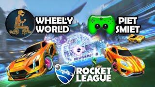 Nur mit dem MUND platt gemacht! 🎮 Rocket League