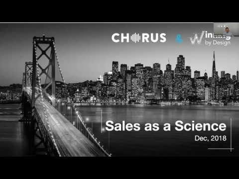 Sales as a Science Webinar