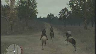 Red Dead Redemption Mission gameplay - At Home With Dutch pt1