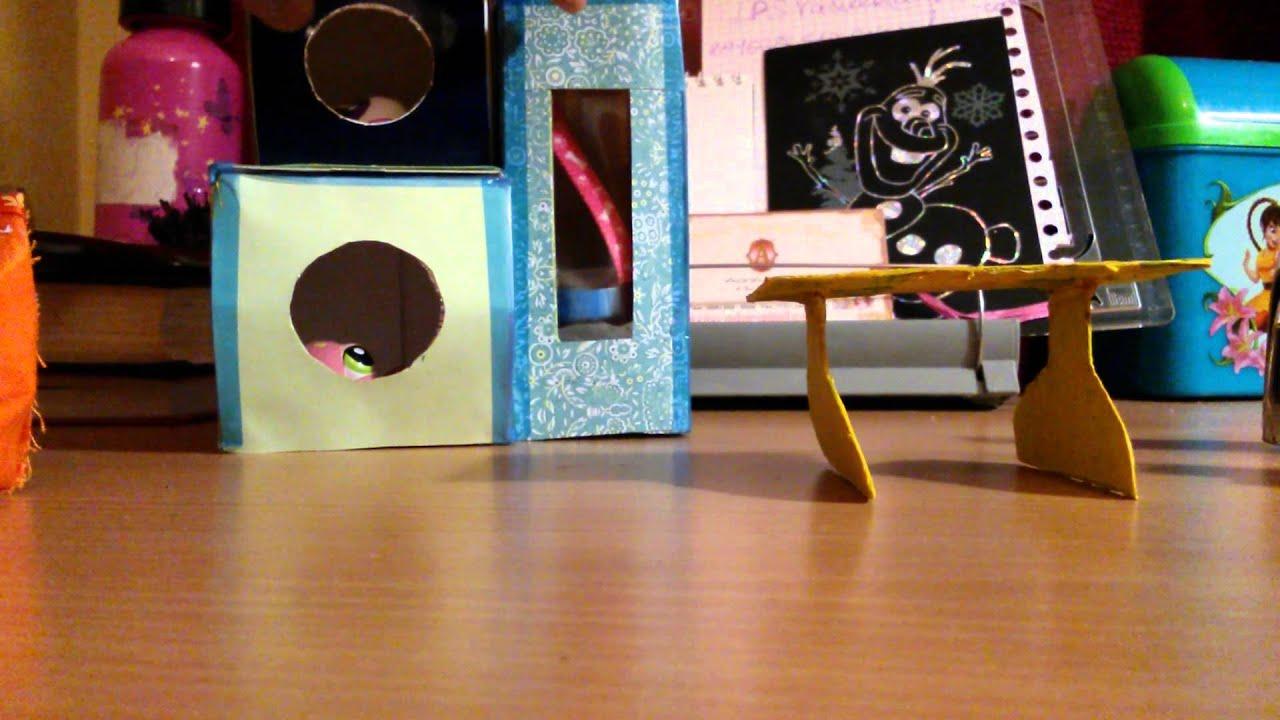 Как сделать мебель своими руками для лпс