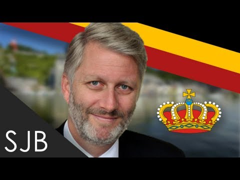 Kings and Queens of the Kingdom of Belgium - Philippe - Kroning van koning Filip