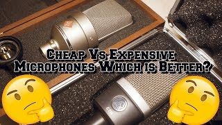 Cheap Vs Expensive Microphones Which is Better? (TLM 103, Akg C214, Akg P220)