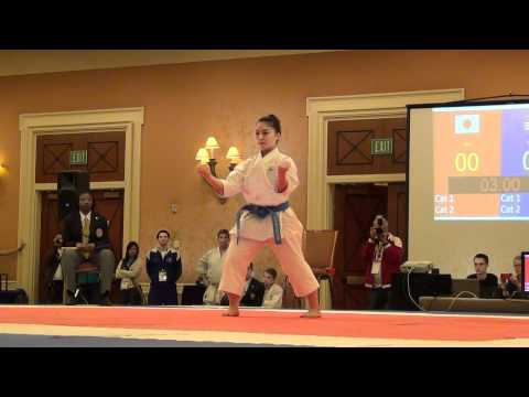 USA Open 2012 - Female Elite Kata FINAL