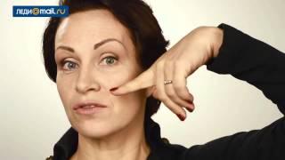 Упражнения для лица от носогубных складок: гимнастика на видео
