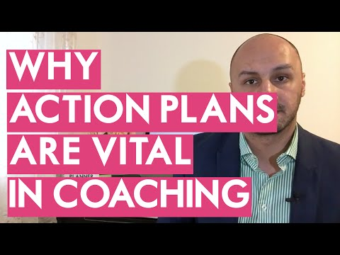 WHY ACTION PLANS ARE IMPORTANT IN COACHING & TRAINING - Cohen Training Institute