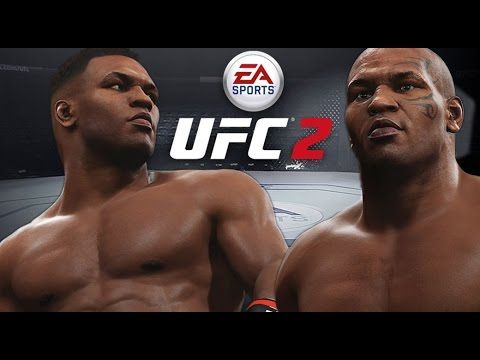 Mike Tyson Hits HARD! Knock Out King! EA Sports UFC 2 Online Gameplay!