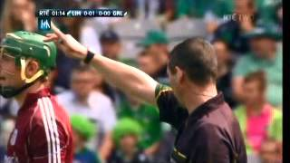 Hawkeye Failure at Croke Park - Limerick vs Galway Minor Game