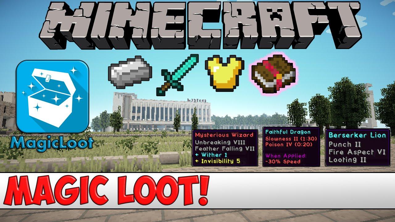 Minecraft Bukkit Plugin - Magic Loot - Tutorial