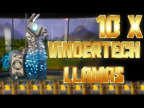 Legendary Vindertech Llamas - 10 X Llamas | Legendary Energy Ammo Weap...