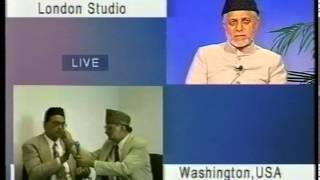 Closing Session Jalsa Salana USA 2001 Presided by Sahibzada Mirza Muzaffar Ahmad
