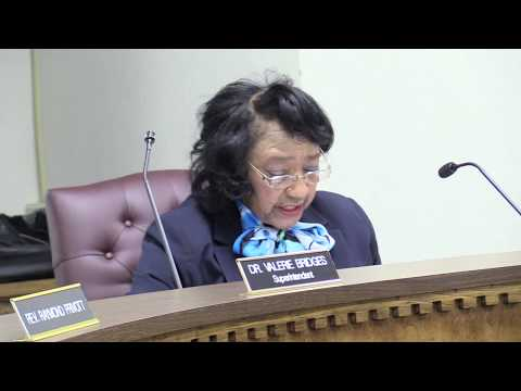 Part 1 Edgecombe County Public Schools March Meeting 2018