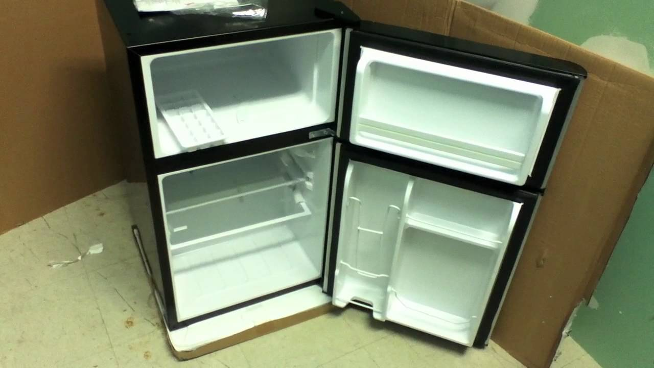 Small Refrigerator With Freezer Youtube