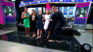 Video Amy Robach & Ginger Zee & Tove Lo - no high heels & feet close up - March 24, 2015 download MP3, 3GP, MP4, WEBM, AVI, FLV Agustus 2018