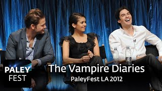 The Vampire Diaries at PaleyFest LA 2012: Full Conversation