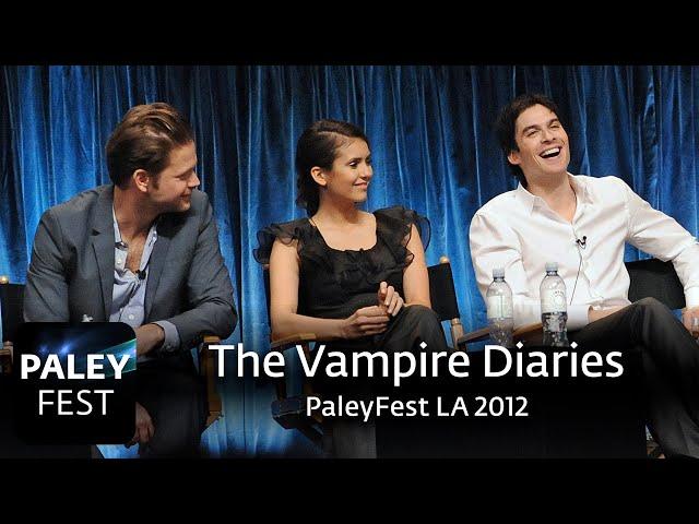 The Vampire Diaries at PaleyFest LA 2012\: Full Conversation