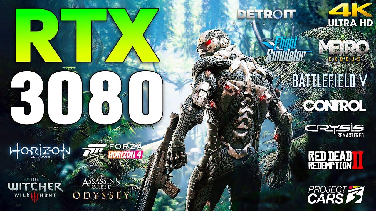 GeForce RTX 3080 Test in 12 Games l 4K l