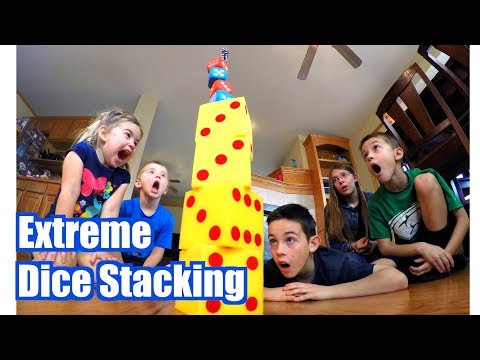 Trick Shot Titus 13 | EXTREME Dice Stacking (ft. the Kylo Ren Dice Saber, Fidget Spinner Stack)