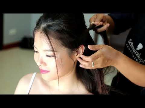 Phuket Makeup Artist Service : Li Minghao + Liu Lu