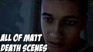 Until Dawn All of Matt Death Scene (Obviously Spoilers)