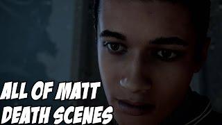 Until Dawn All of Matt Death Scene (Obviously Spoilers)