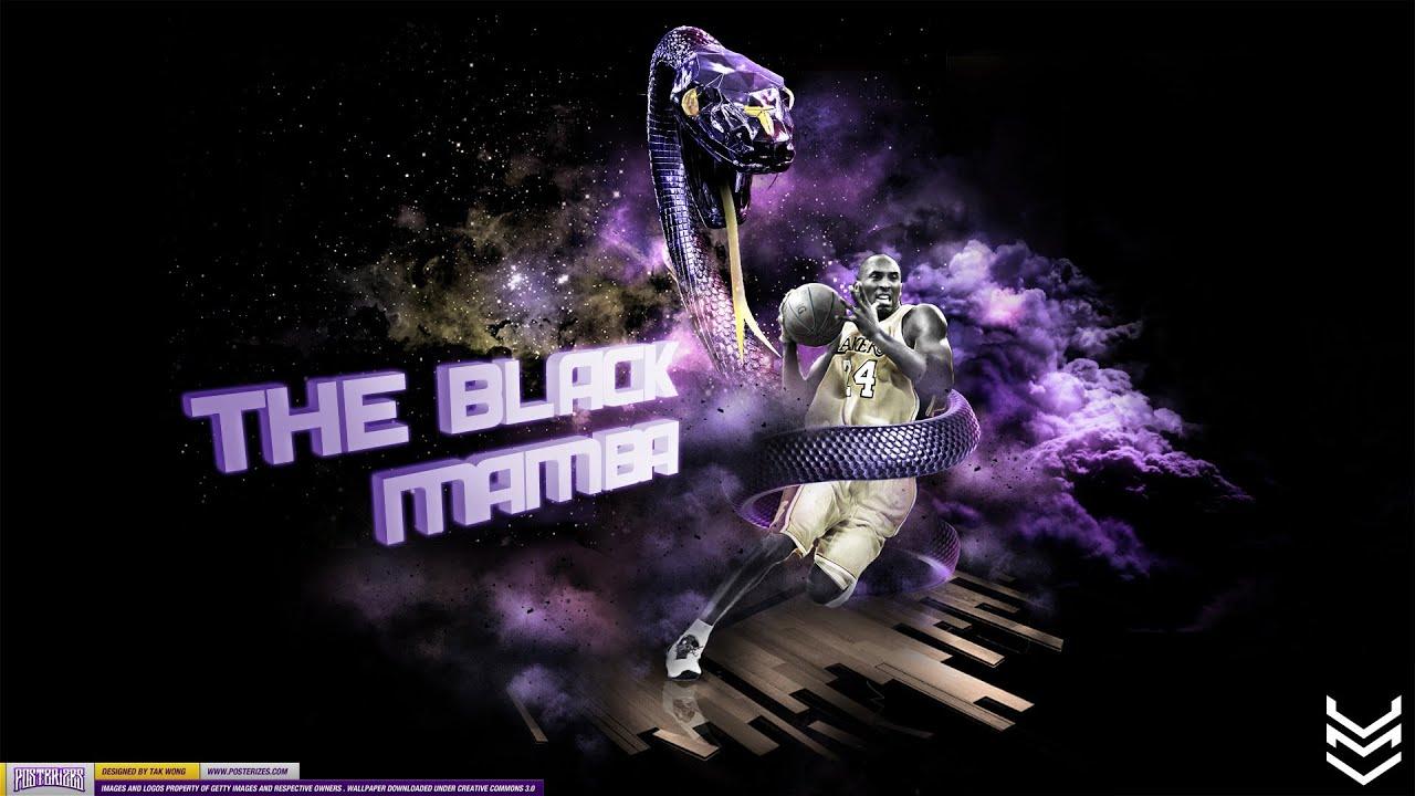 Kobe Bryant The Black Mamba