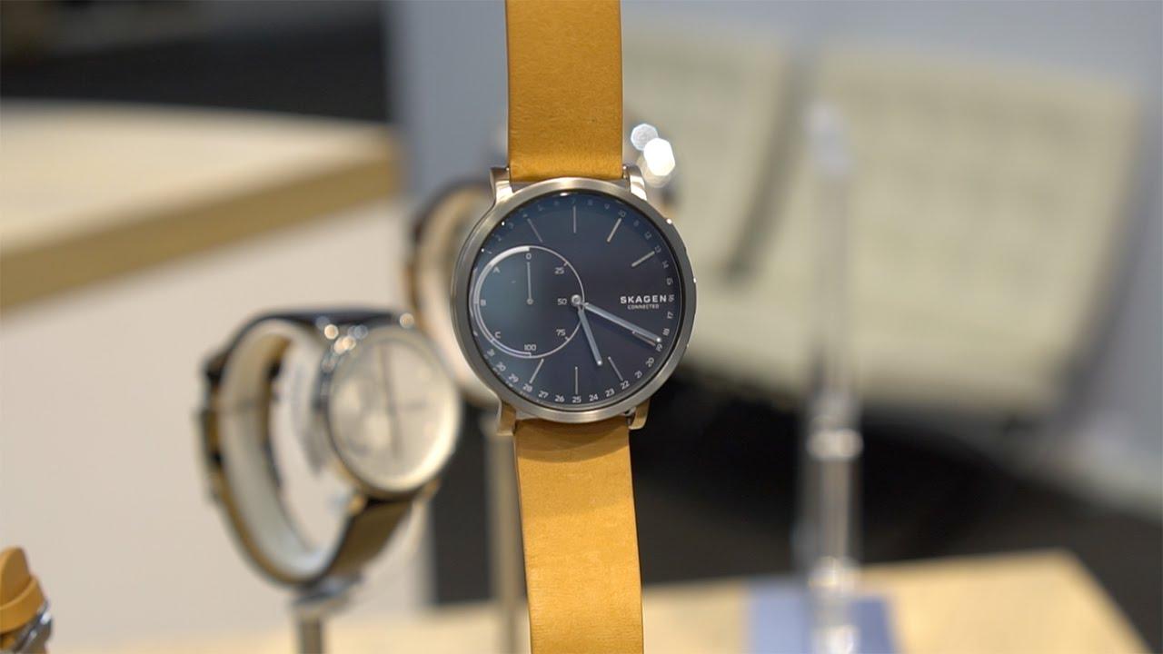 b87e1ecf5b704 Fossil   Skagen Hybrid Smartwatch Hands-on  Smart Idea