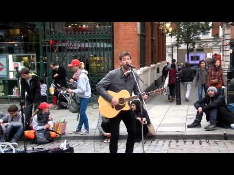 Covent Garden Busker - Sam Willoughby