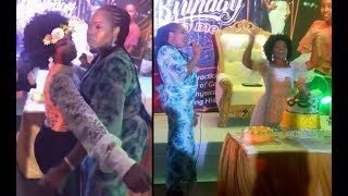 Proud Mom Tope Alabi Sing amp Dance With her Pretty DaughterAyo At Her Birthday Party