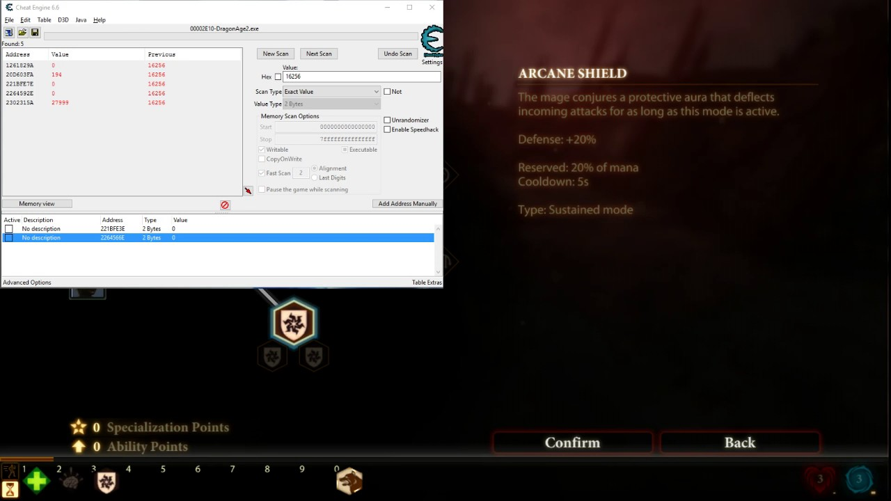 Dragon age 2 gold cheat engine do steroid knee injections hurt