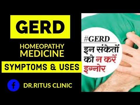 GERD: Acid Reflux Symptoms,Treatment & Heartburn Relief Homeopathic Medicine