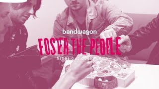 Foster The People go fishing for questions about tour bus music, crushes and the Grammys