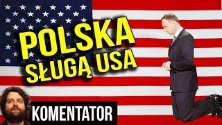 Polska na Kolanach Przed USA - Rząd PIS dla Trumpa i Ameryki Prowokuje Iran - Analiza Komentator