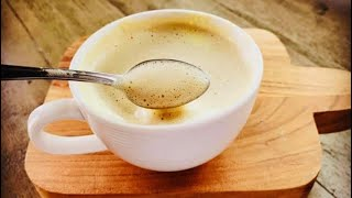 Café con yemas de huevo