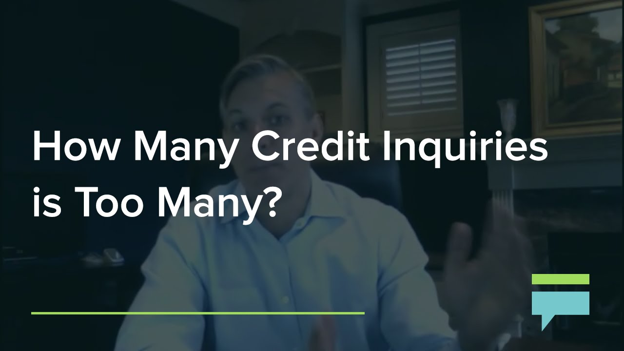 How many credit inquiries is too many credit card insider youtube reheart Gallery