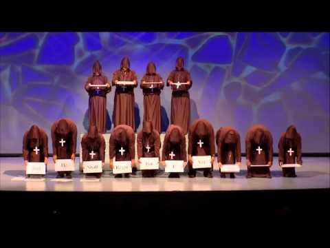 Hallelujah Chorus Silent Monks funny !!!