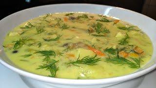 Рецепт СЫРНОГО СУПА. Куриный суп с плавленым сыром. Когда мне лень готовить, я делаю это блюдо