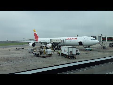 Iberia A340-600 EC-JFX (IBE6856) full flight EZE-MAD